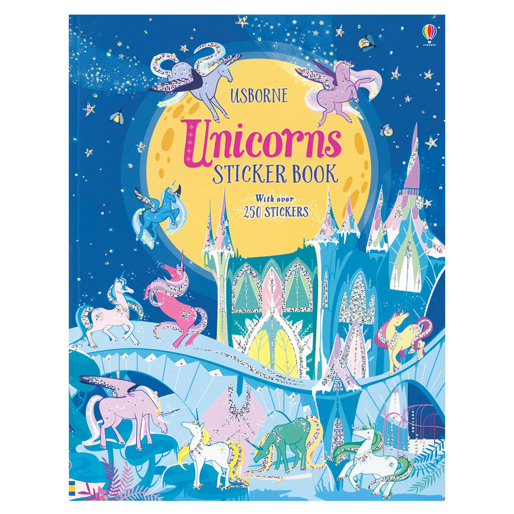 Usborne - Unicorns Sticker Book | Mapamundi Kids