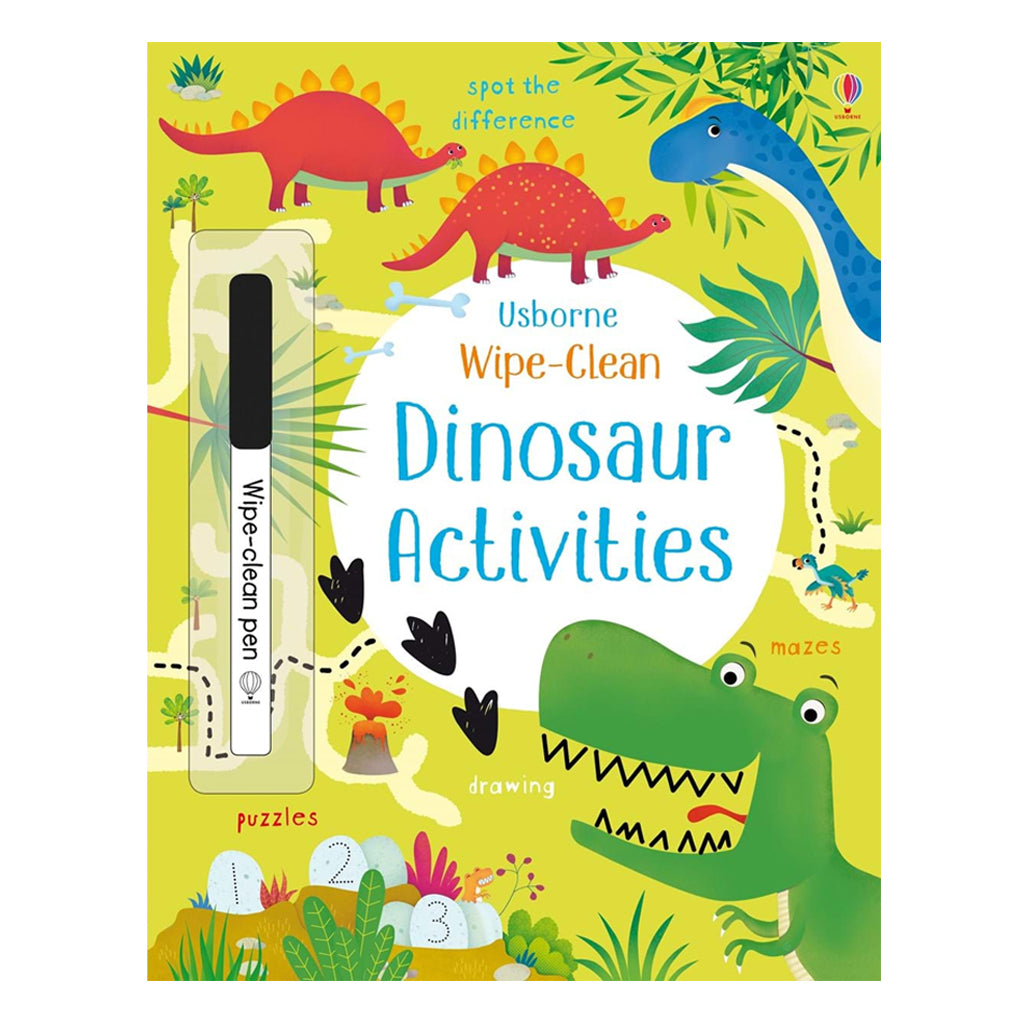Wipe-Clean Dino Activities | Usborne