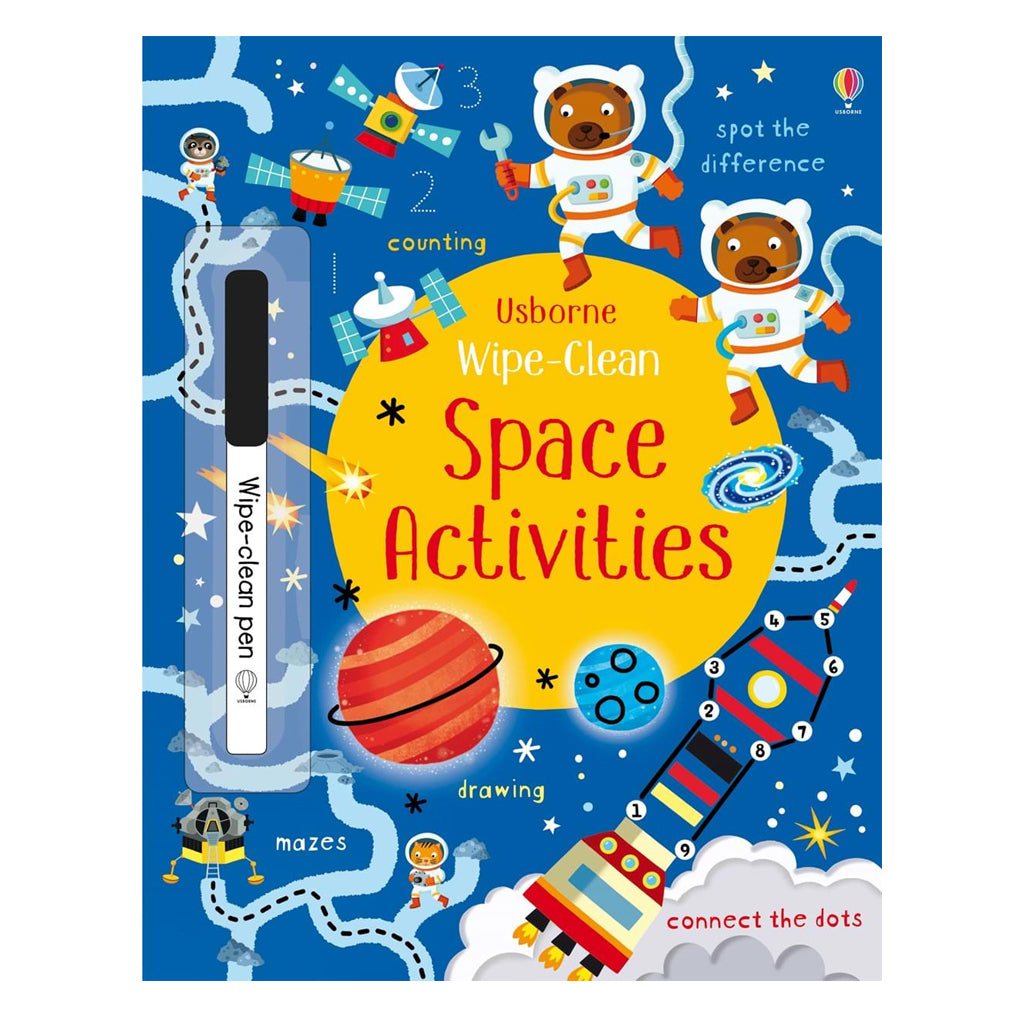 Wipe-Clean Space Activities | Usborne
