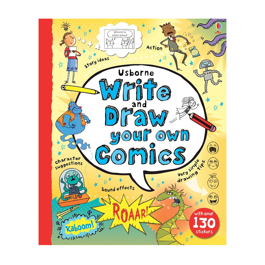 Write and Draw your Own Comics | Usborne