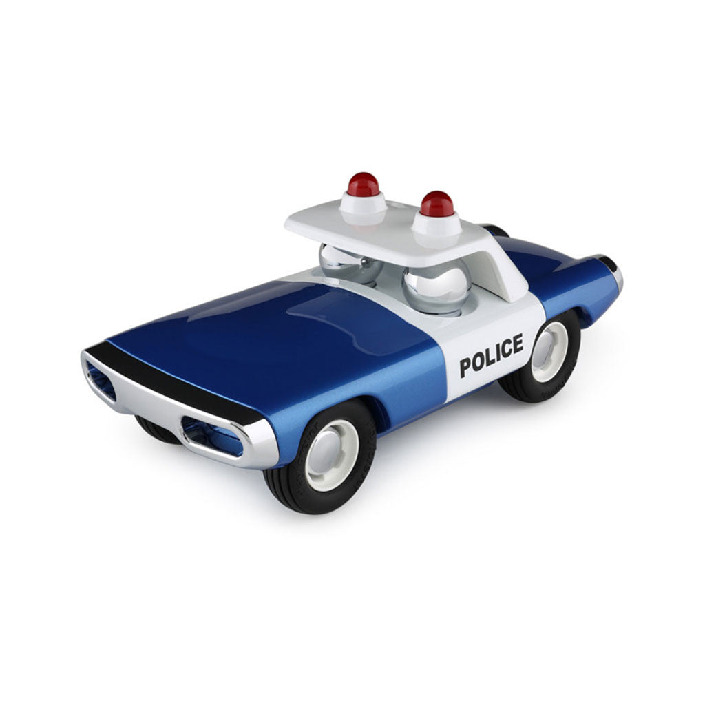 playforever cars designed in the uk maverick style heat voiture de police in blue