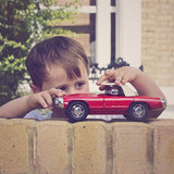 playforever cars designed in the uk maverick style thunderlane car in dean red lifestyle photo