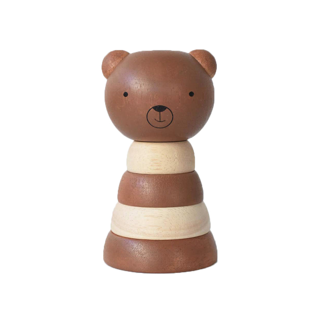 Wee Gallery - Wooden Bear Stacker | Mapamundi Kids