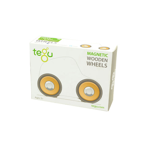 Tegu - Set of 4 Wheels - Sustainably Made in Honduras