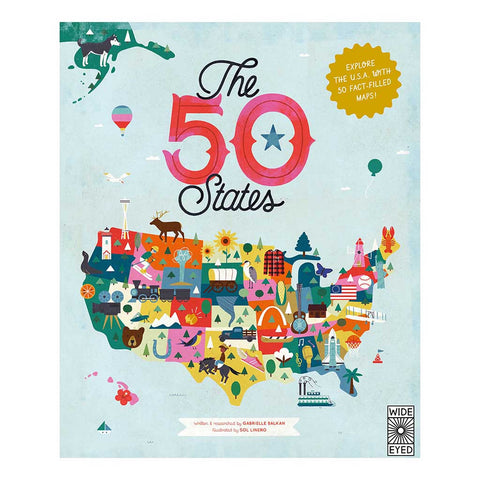 50 States: Explore the U.S.A with 50 fact-filled maps!