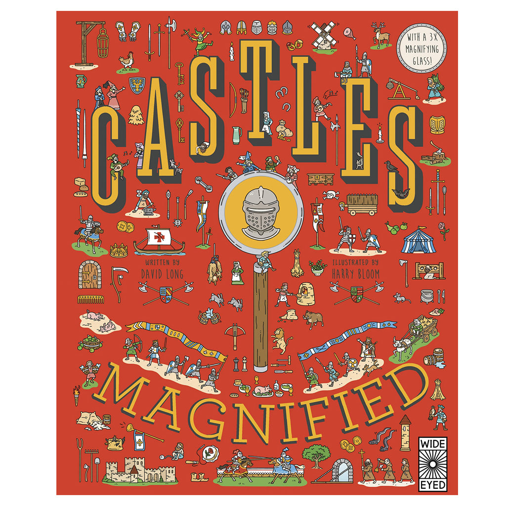 Castles: Magnified by David Long | Mapamundi Kids