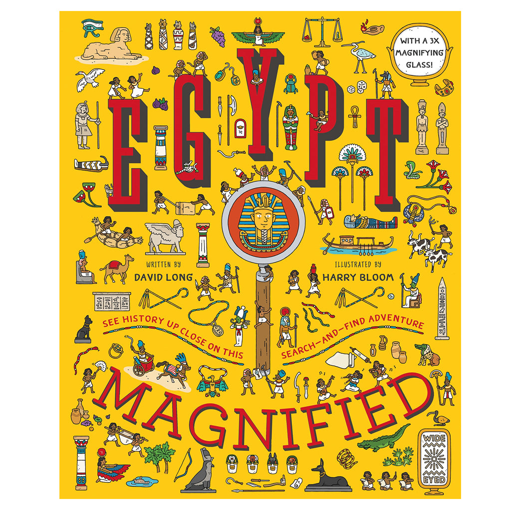 Egypt: Magnified by David Long | Mapamundi Kids