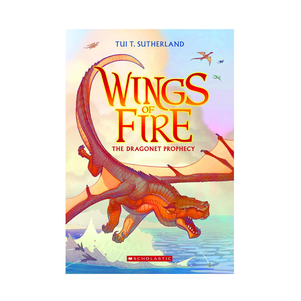 Wings of Fire Book #1: The Dragonet Prophecy | Mapamundi Kids
