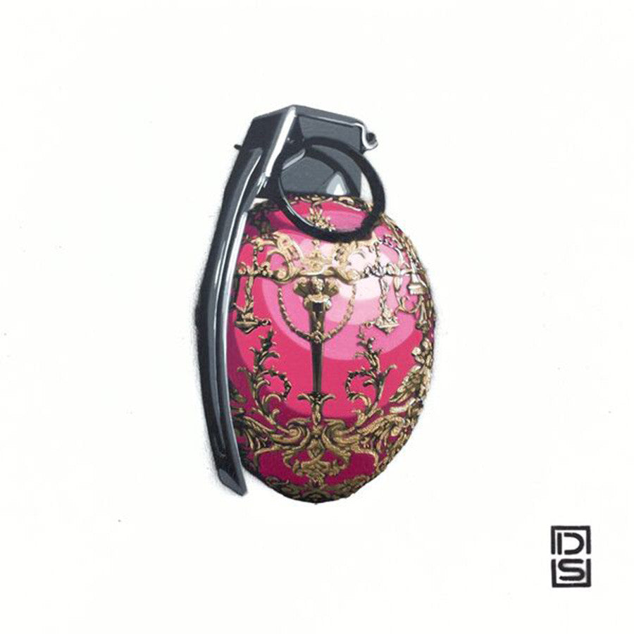 DS original artwork, Faberge 2 Grenade