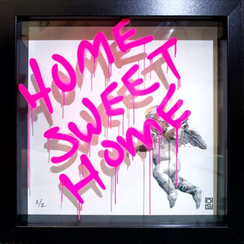 Glass Writer / Home Sweet Home / Pink