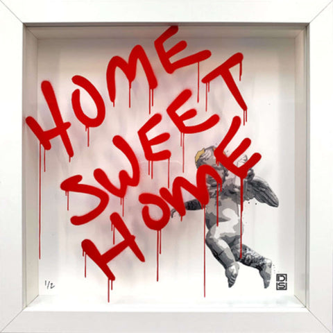 Glass Writer / Home Sweet Home / Shock Red