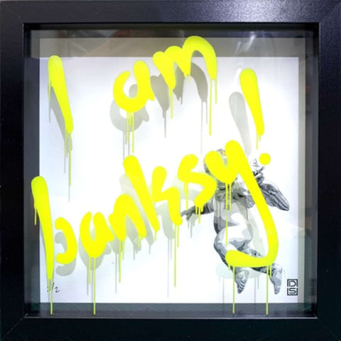 Glass Writer / I Am Banksy / Yellow