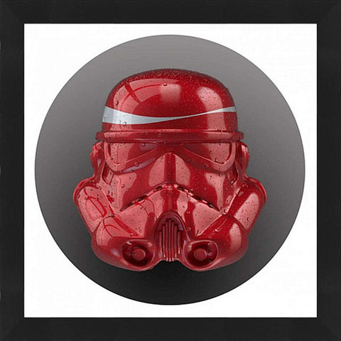 Cola Trooper Framed