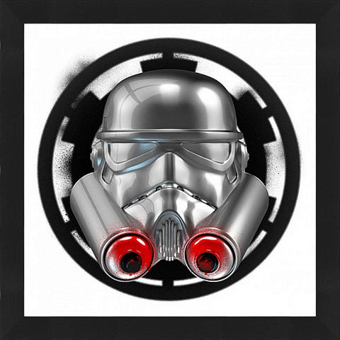 Spray Trooper Framed