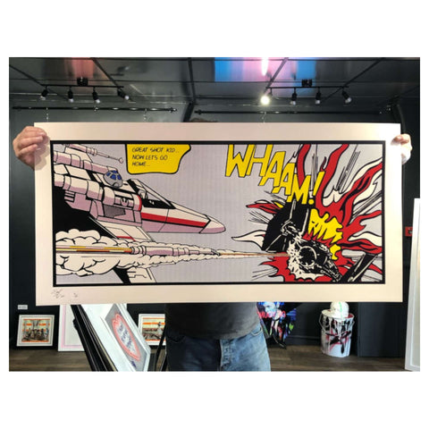 Great Shot / Artist Proof / Framed