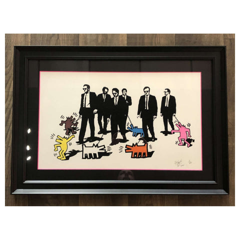 Reservoir Dogs / Colour Coordinated / Framed