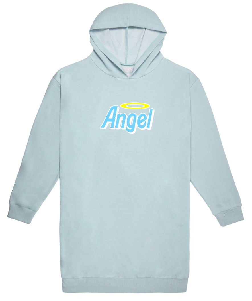 Angel Hoodie Sweater Dress