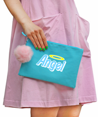 Angel Pom-Pom Clutch