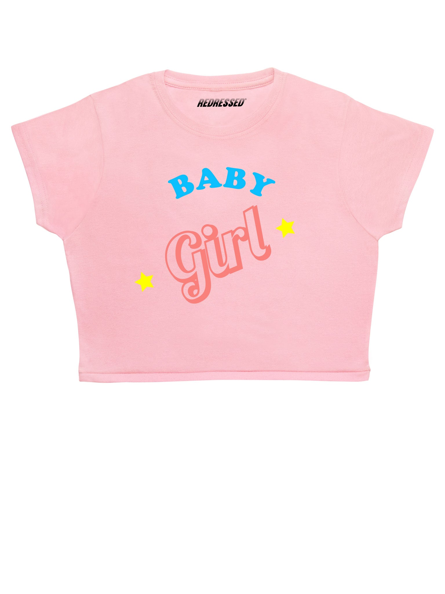 Baby Girl Stars Crop Top