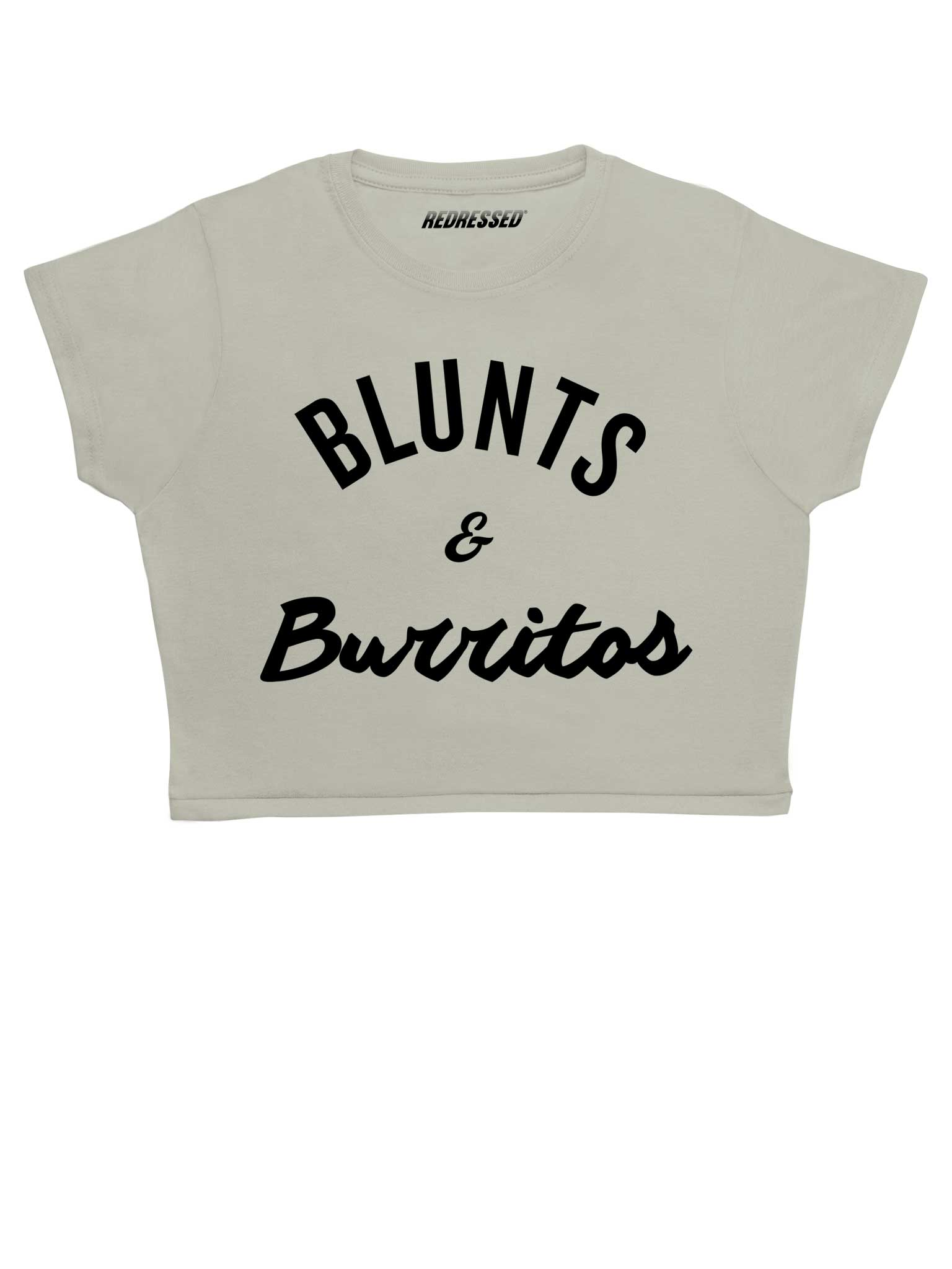 Blunts & Burritos Crop Top
