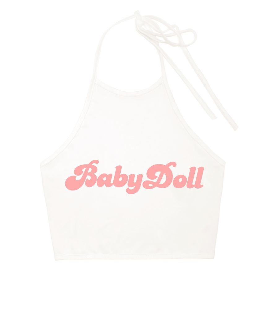 Baby Doll Halter Top