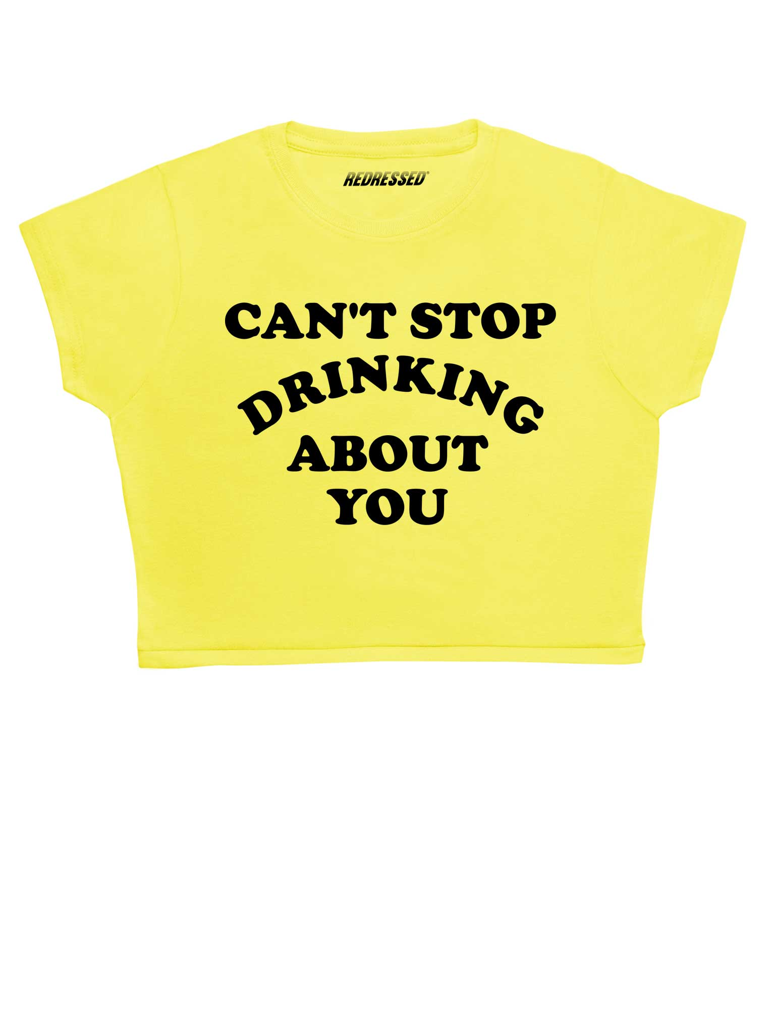 Can't Stop Drinking About You Crop Top