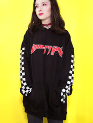 Creepy Girl Black Hoodie
