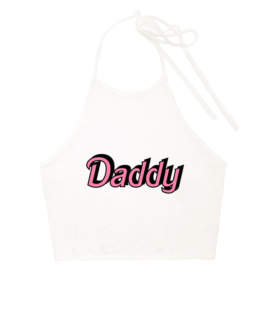 Daddy Halter Top