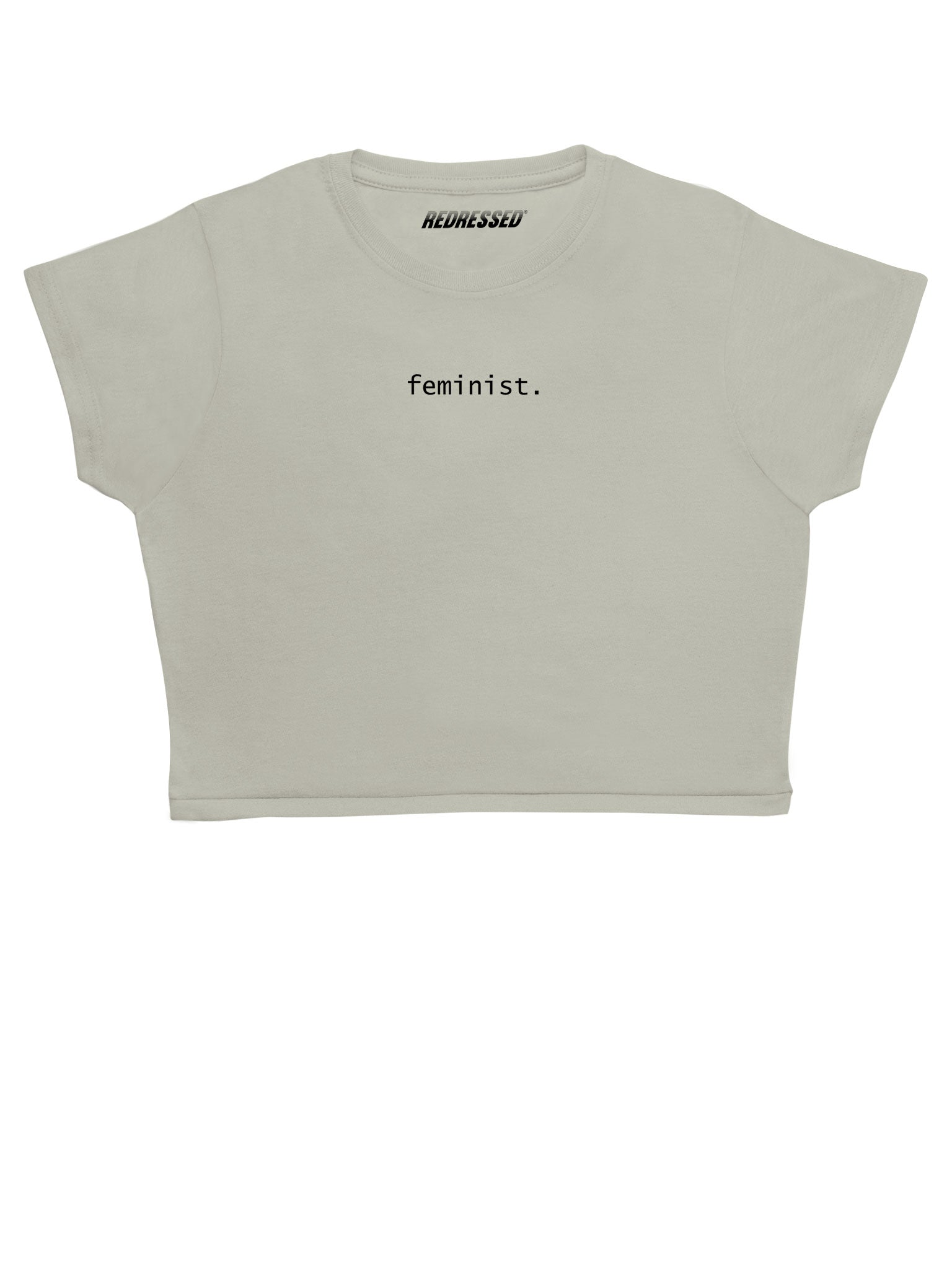 a5c87a2e0e3238 Feminist Crop Top – Redressed