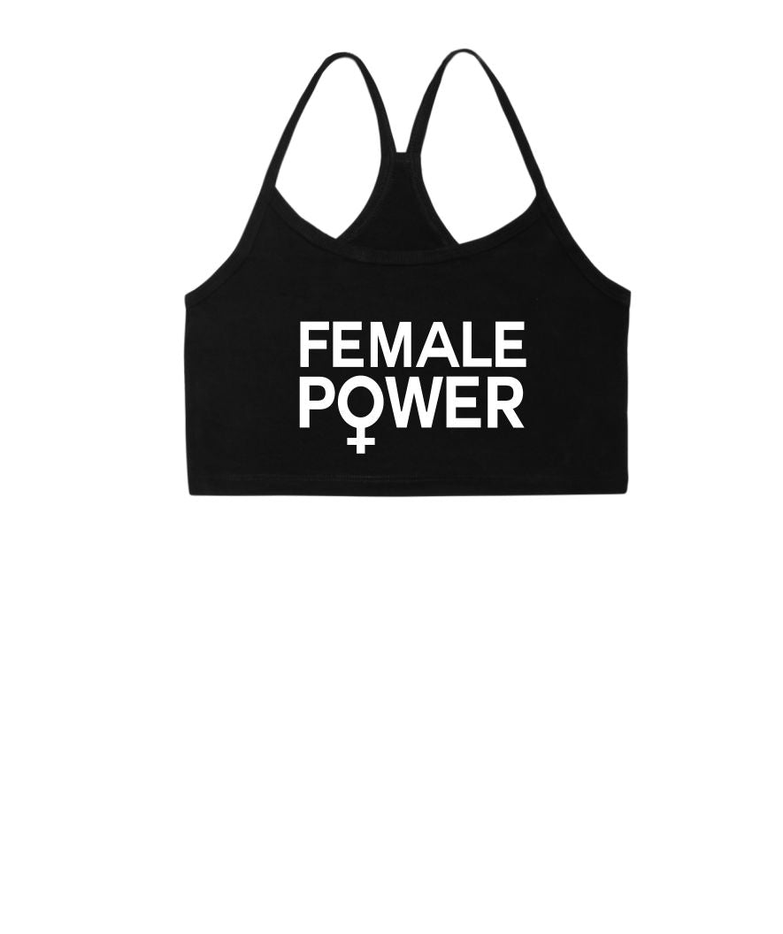 Female Power Bralet