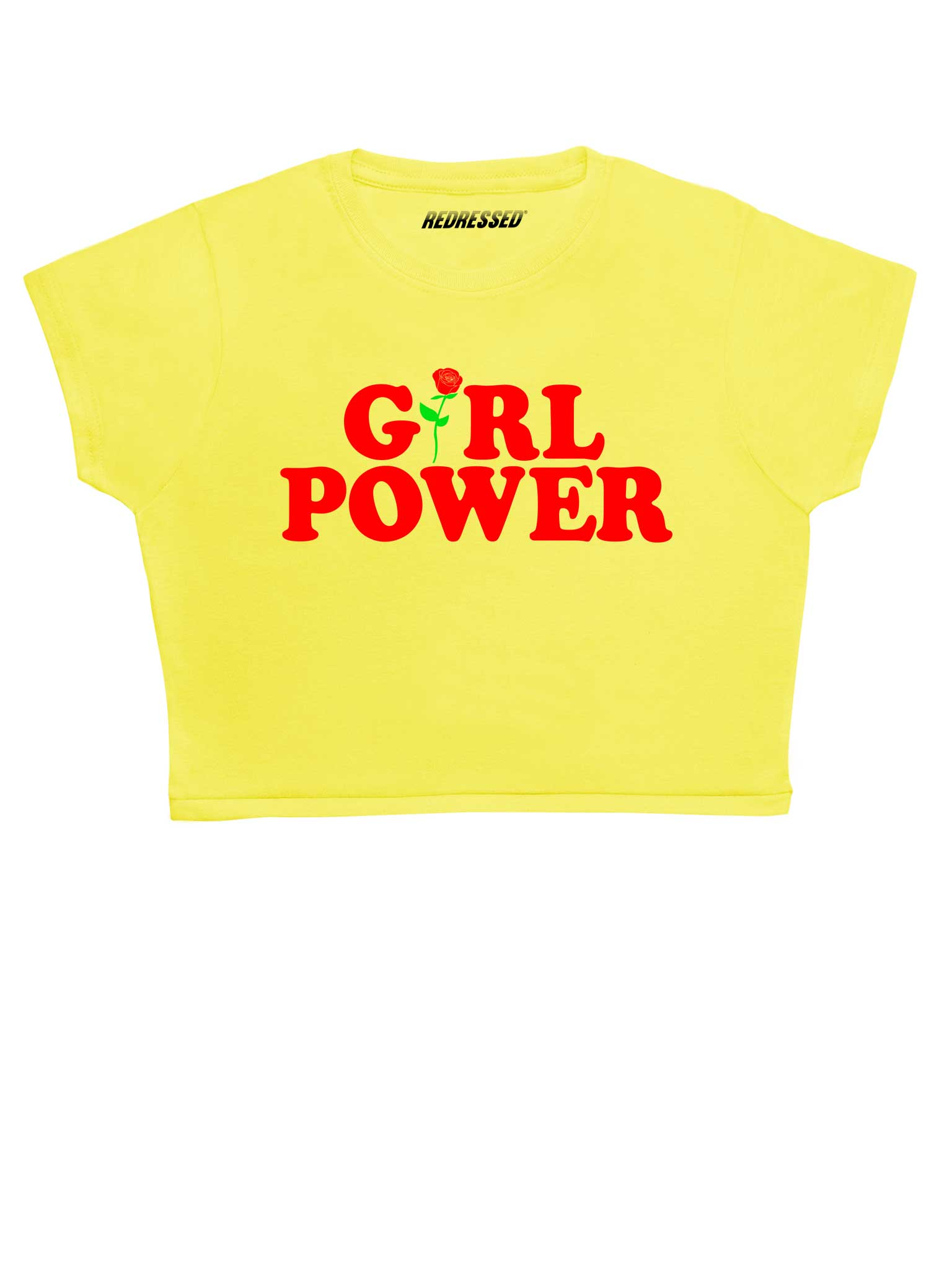 Girl Power Rose Crop Top