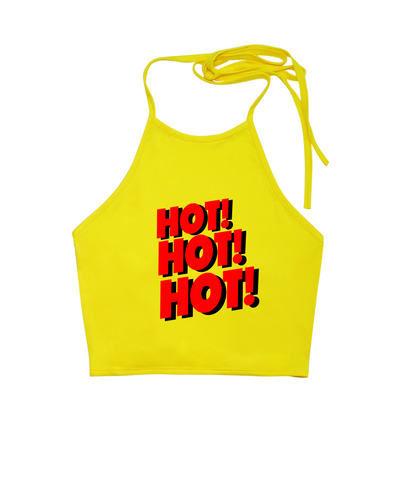 Hot Hot Hot Halter Top