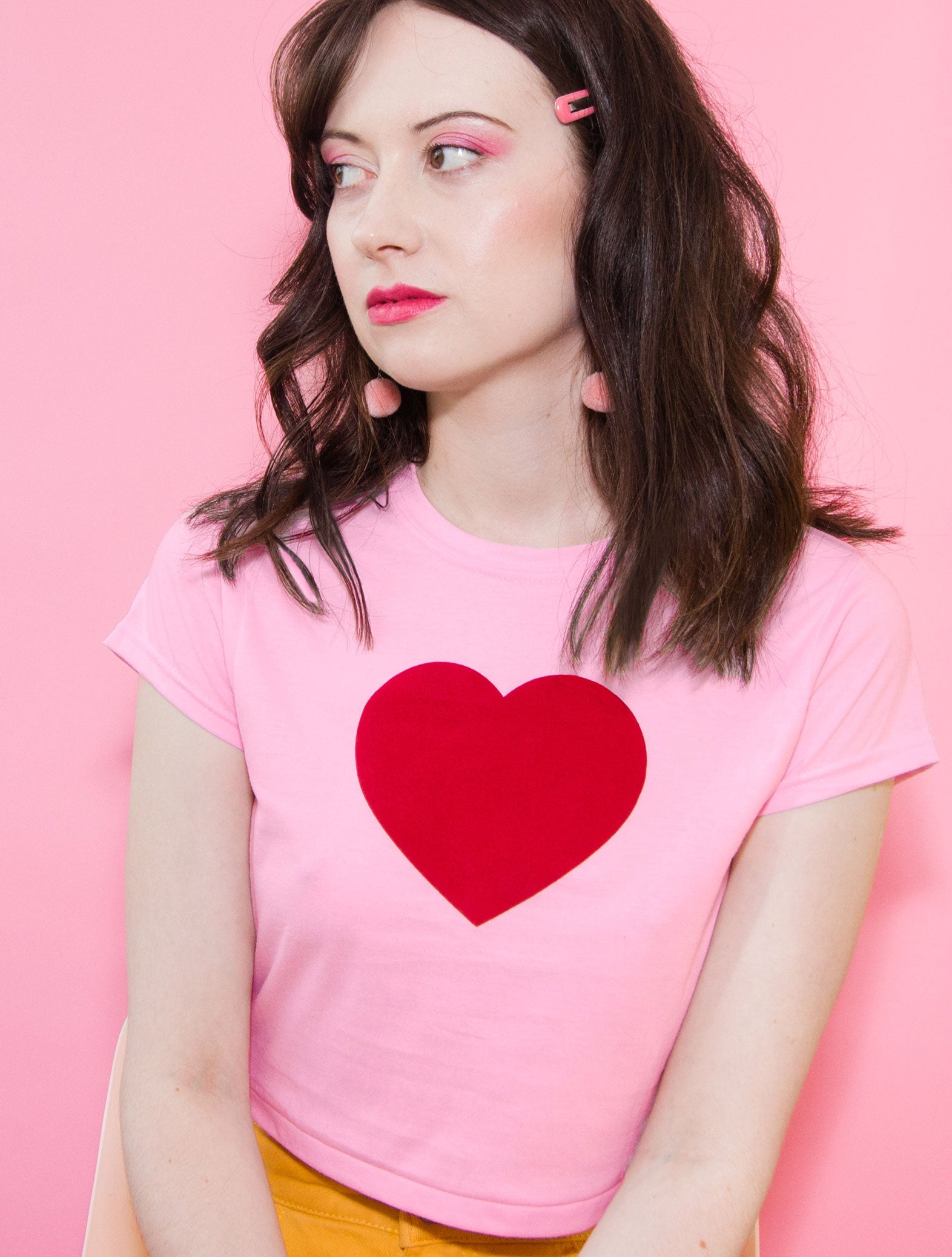 Loveheart Crop Top