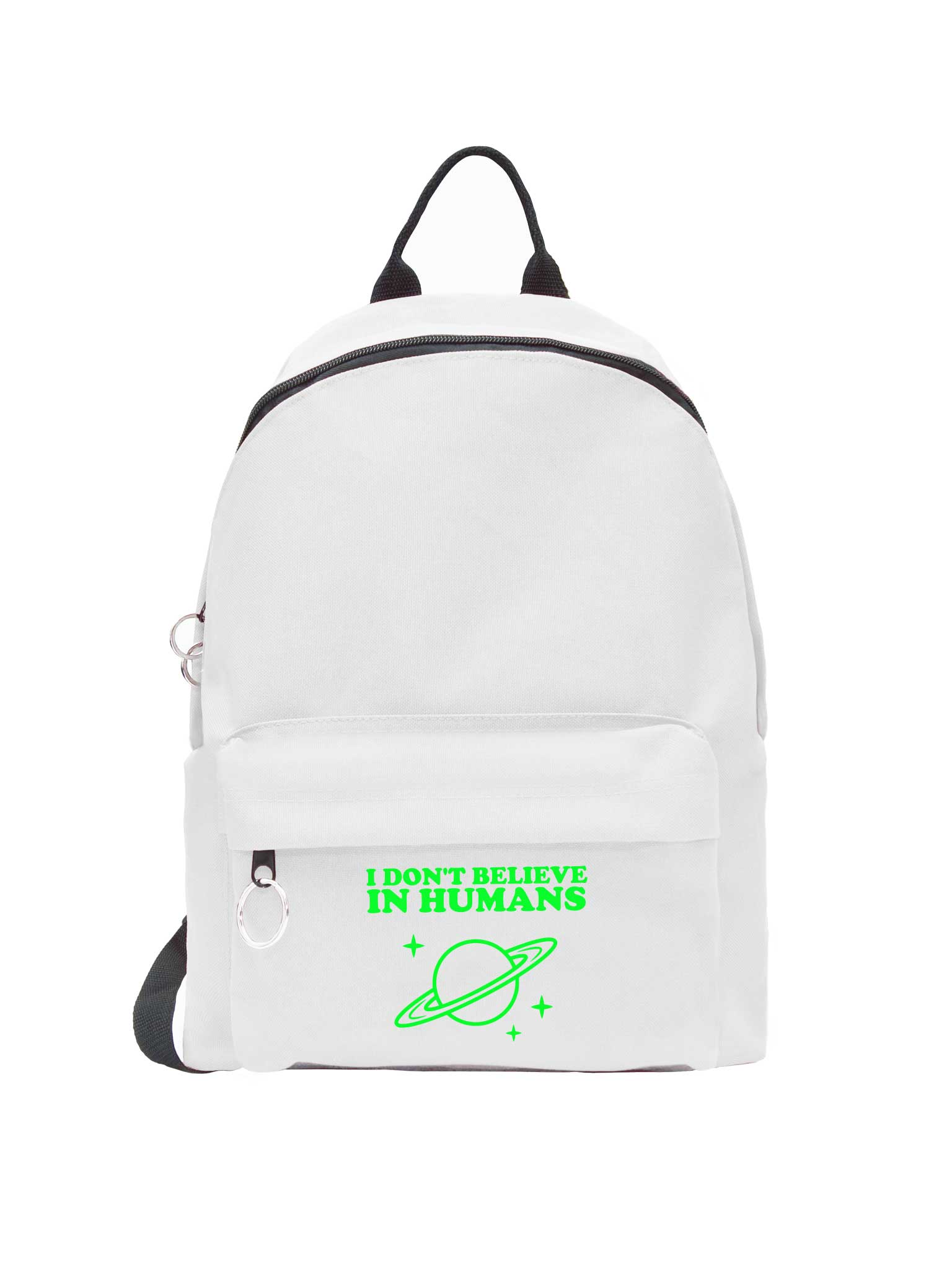 I Don't Believe In Humans Backpack