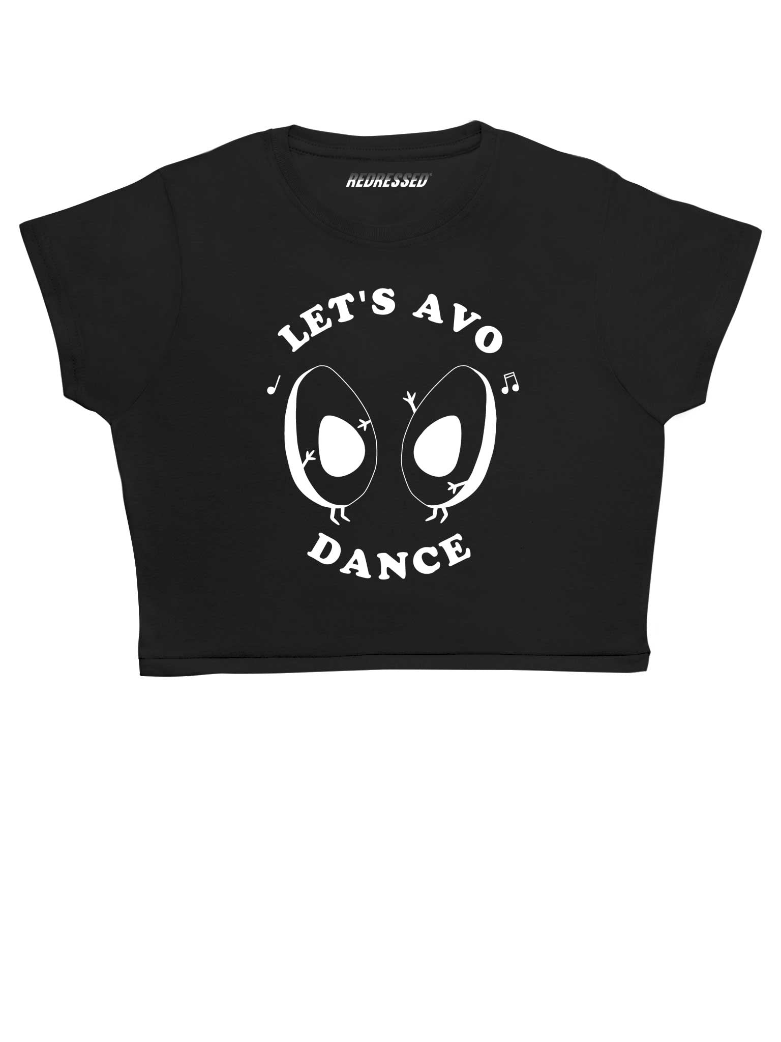 Let's Avo Dance Crop Top