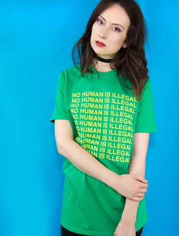 No Human Is Illegal Tee