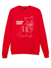 Opening Hours Kitty Sweatshirt