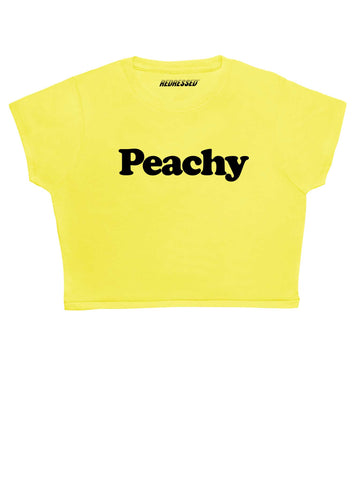 All Peachy Baby Crop Top