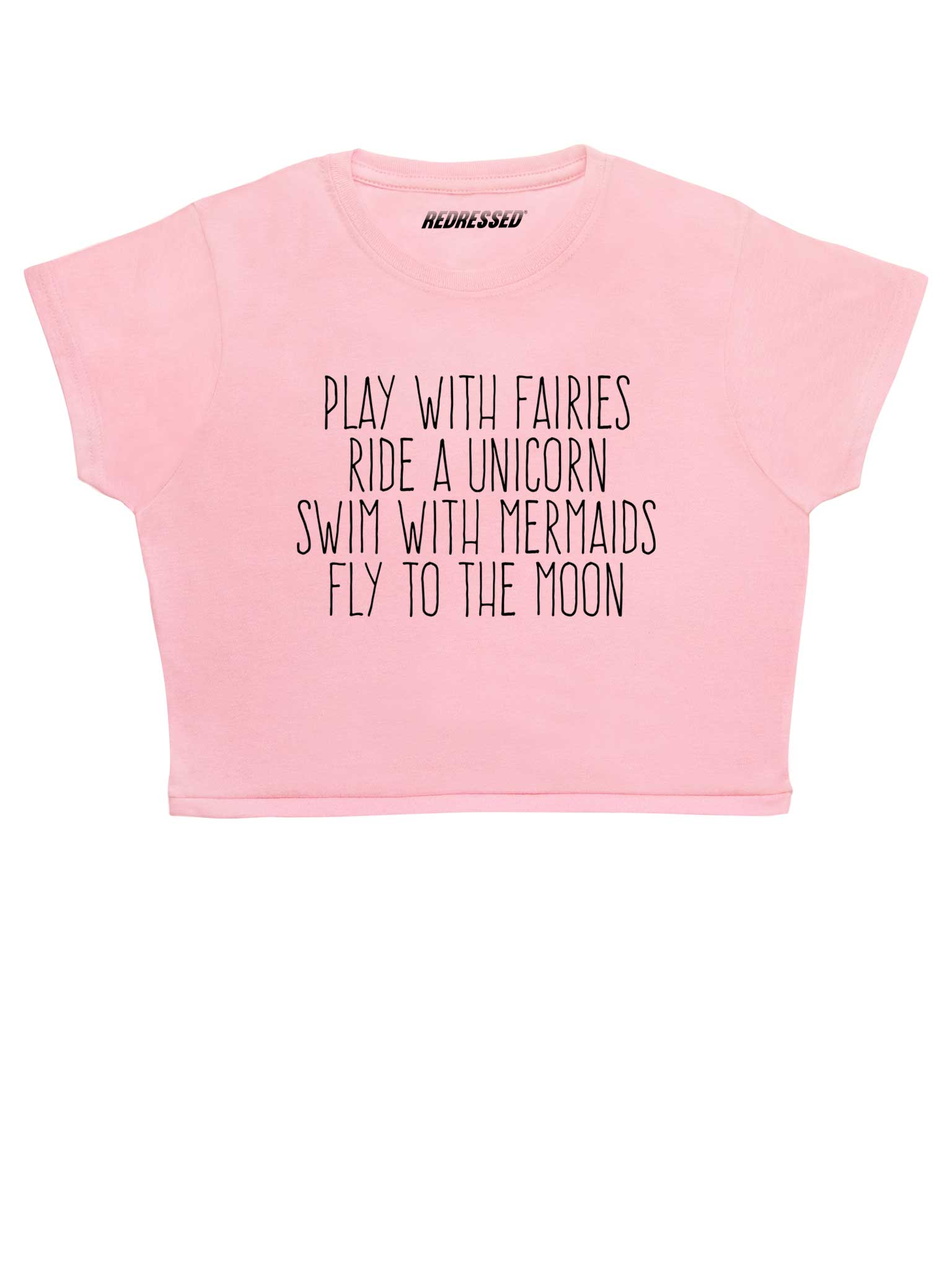 Play With Fairies Crop Top
