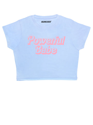 Powerful Babe Crop Top