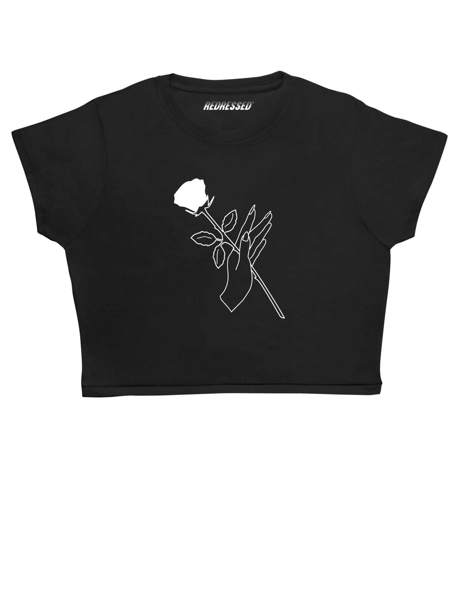 Redressed Rose Crop Top