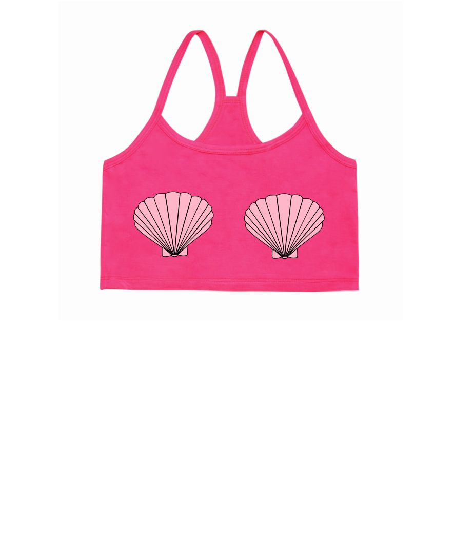 Mermaid Shells Bralet
