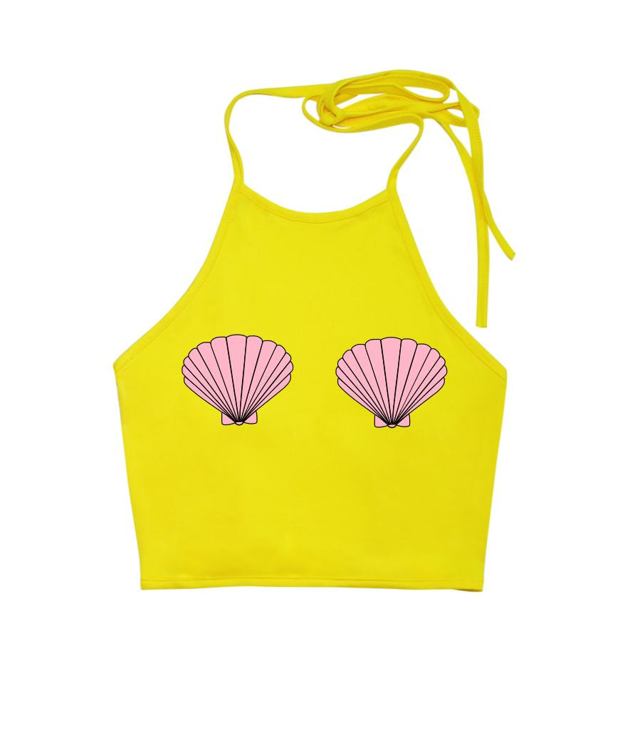 Mermaid Shells Halter Top