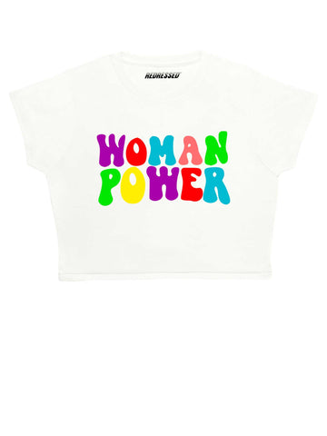 Woman Power Crop Top