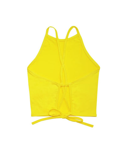 Banana Halter Top