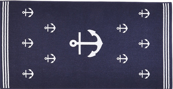 Cotton Beach Towel - ANCHOR