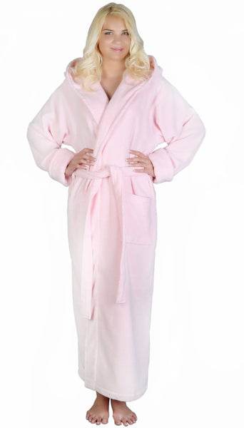 Hooded Zero Twist Bathrobe