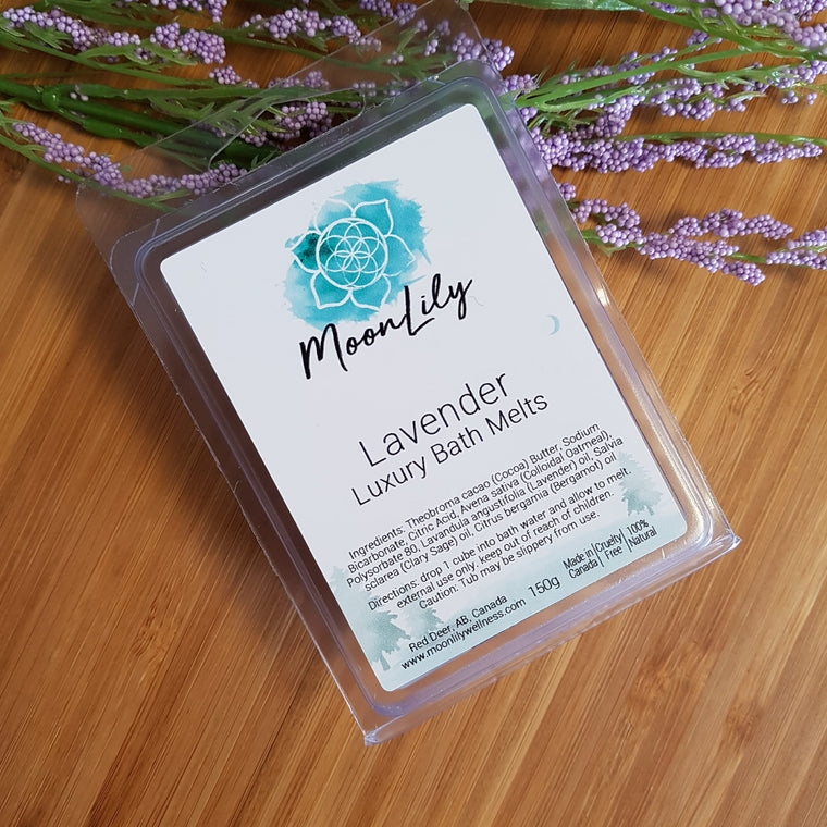 Lavender Luxury Bath Melts