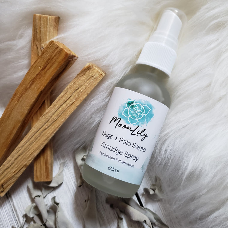 Sage + Palo Santo Smudge Spray