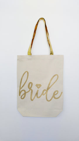 Bride Tote Bag, Honeymoon Bag, Bridal Tote, Bride Gift, Future Mrs Tote, Engagement Gift, Bridal Shower Gift, Bride Bag, Mrs Bag
